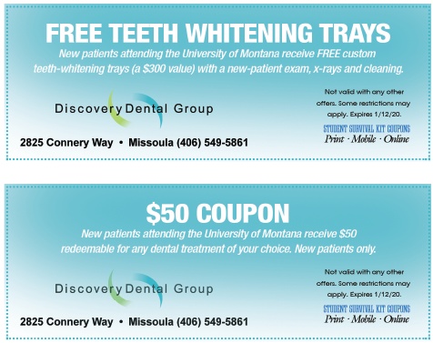 Discovery Dental coupon