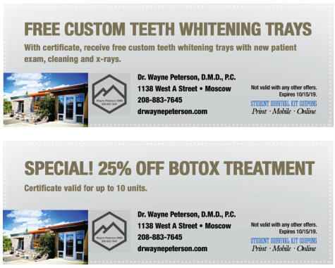 Dr. Peterson DDS coupon