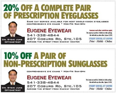 Eugene Eyewear coupon
