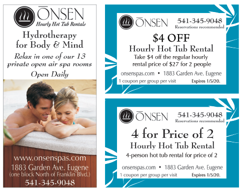 Onsen Hot Tub Rentals coupon