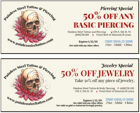 Pailess Steel coupons